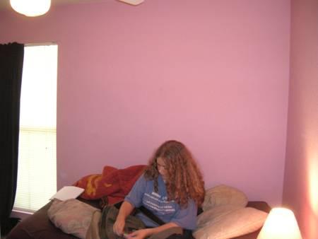Here's Krislyn's room before.